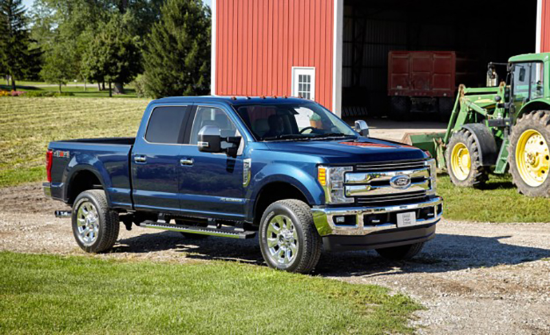 F-Series Super Duty Crew Cab SB